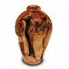 Enrico Root Wood Small Urn