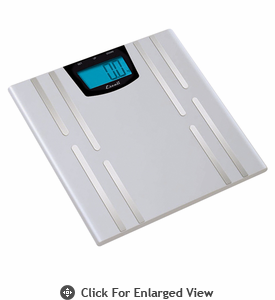 Escali  Body Fat, Water, Muscle Mass Scale 400lb