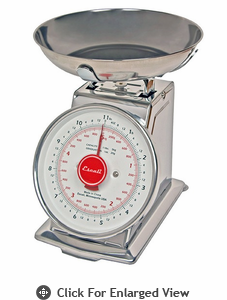 Escali Mercado Dial Scale w/ Bowl 11 lb.