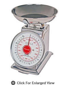 Escali Mercado Dial Scale w/ Bowl 2 lb.