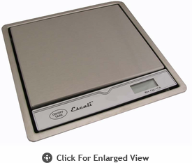 Escali Pronto Surface Mountable Scale 11 lb.