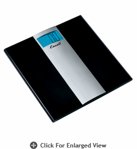 Escali Ultra Slim  Bathroom Scale 400lb.