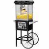 Funtime  Carnival-Style Popcorn Machine With Cart Black