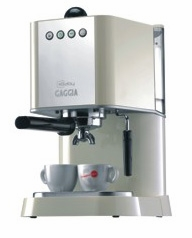 Gaggia Semi-Automatic Espresso Machine New Baby Ivory