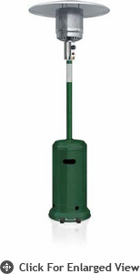 Garden Radiance Patio Heater Propane Green