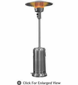 Garden Radiance  Patio Heater Propane Stainless Steel