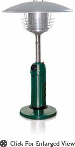 Garden Radiance Table Top Patio Heater Green
