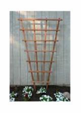 Greener Garden Recycled Redwood Trellis