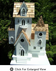 Home Bazaar Castle Birdhouse