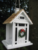Home Bazaar  Christmas Cottage Birdfeeder