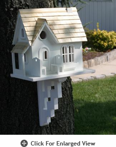 Home Bazaar Cozy Cottage  Birdhouse
