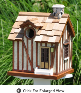 Home Bazaar  French Guest Cottage  Birdhouse