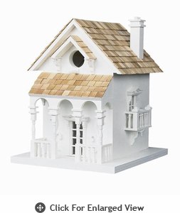 Home Bazaar Honeymoon Cottage w/Bracket Birdhouse