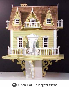 Home Bazaar Le Chateau Dark Yellow Birdhouse