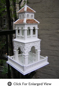 Home Bazaar Pagoda Tower Bird Feeder