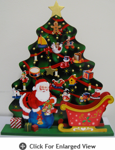 Home Bazaar  Playful Christmas Tree  Advent Calendar