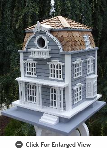 Home Bazaar Sag Harbor Birdhouse With Mansard Roof
