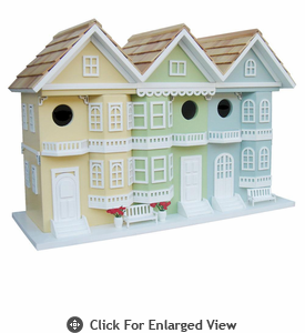 Home Bazaar San Francisco Row House Birdhouse