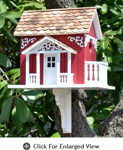 Home Bazaar  Swedish Cottage  Birdhouse