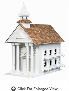 Home Bazaar Town Hall Birdhouse