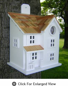 Home Bazaar Townhouse Birdhouse
