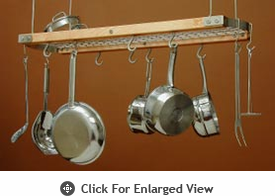 J.K.Adams  Ceiling Oval Pot Racks