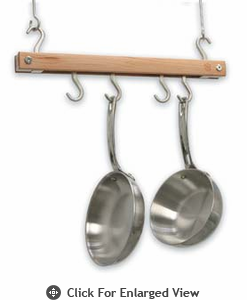 J.K Adams Mini Bar Pot Rack