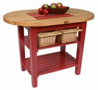 John Boos American Heritage Eliptical C-Table