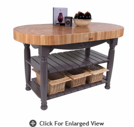 John Boos American Heritage Harvest Table