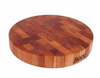 John Boos Chinese Chopping Block 24 in. Diameter x 4 in. Thick