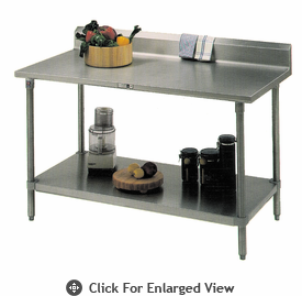 John Boos  Cucina Tavalo Stainless Kitchen Table