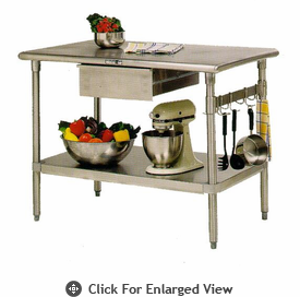 John Boos Forte  Stainless Kitchen Table