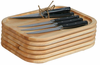John Boos  Steak Boards With Knives  (Set of Six)