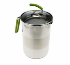 Kuhn Rikon  4th Burner Multi-Pot  Green
