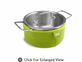 Kuhn Rikon Colori Cook and Serve 2 Quart Green