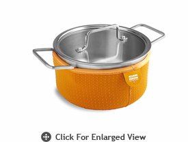 Kuhn Rikon Colori Cook and Serve 2 Quart Orange