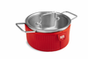Kuhn Rikon Colori Cook and Serve 2 Quart Red