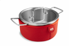 Kuhn Rikon Colori Cook and Serve 3 Quart Red
