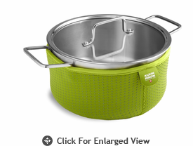 Kuhn Rikon Colori Cook and Serve 4 Quart Green