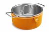 Kuhn Rikon Colori Cook and Serve 4 Quart Orange