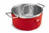 Kuhn Rikon Colori Cook and Serve 4 Quart Red