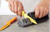 Kuhn Rikon Dual Knife Sharpener - Black
