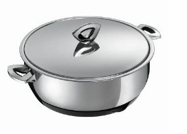 Kuhn Rikon Durotherm Swiss Thermal Cookware 2.5 Liter Braising Pan