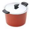 Kuhn Rikon Hotpan 5 qt. Stockpot Red