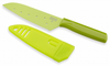 Kuhn Rikon Nonstick Small Santoku Knife Colori Green