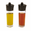 Kuhn Rikon Oil and Vinegar 3 Piece Set Black