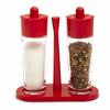 Kuhn Rikon Salt and Pepper 3 Piece Set Red