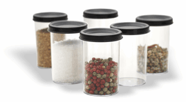 Kuhn Rikon Set of Six Spice Containers only