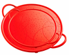 Kuhn Rikon Silicone Splatter Guard Set of Two - Red