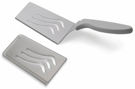 Kuhn Rikon Slice & Serve Set of 2 - Silver